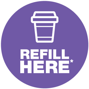 Refill your travel mug